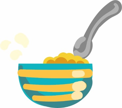Cereal Bowl Graphic